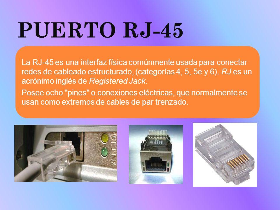 PUERTO RJ-45