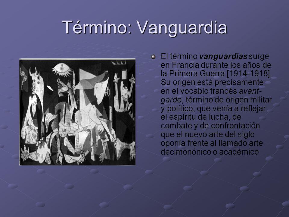 Término: Vanguardia