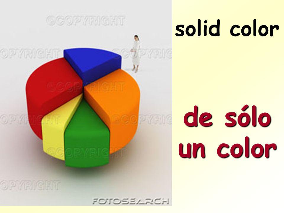 solid color de sólo un color