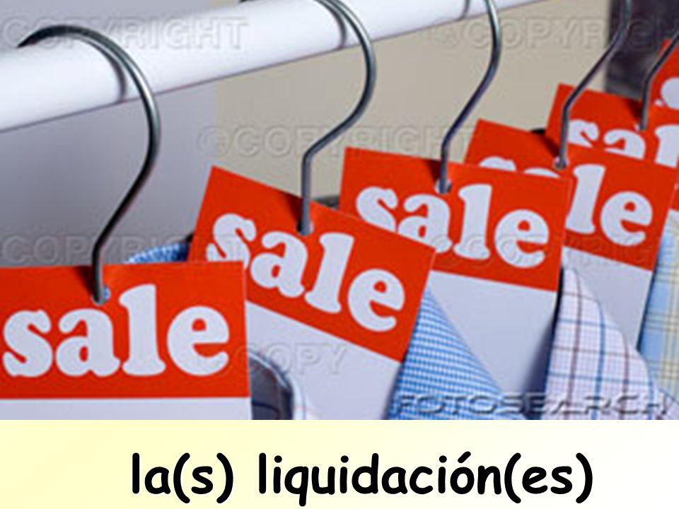la(s) liquidación(es)