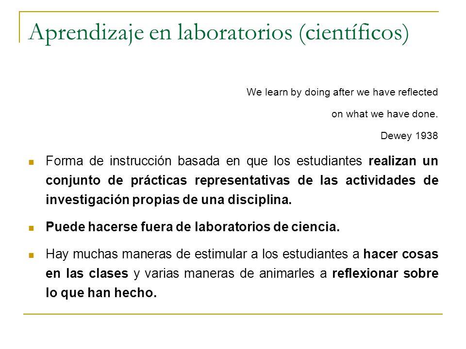 Aprendizaje en laboratorios (científicos)