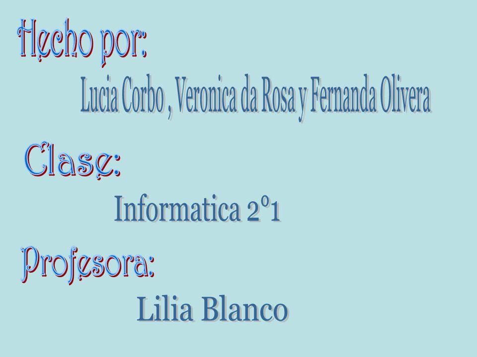 Lucia Corbo , Veronica da Rosa y Fernanda Olivera