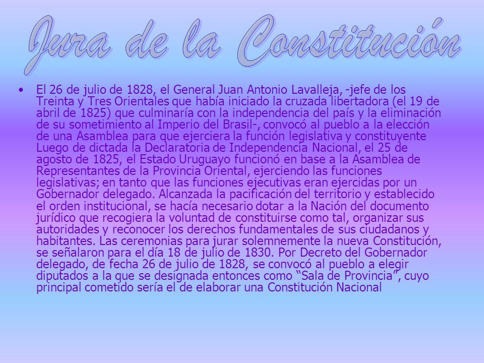 Jura de la Constitución