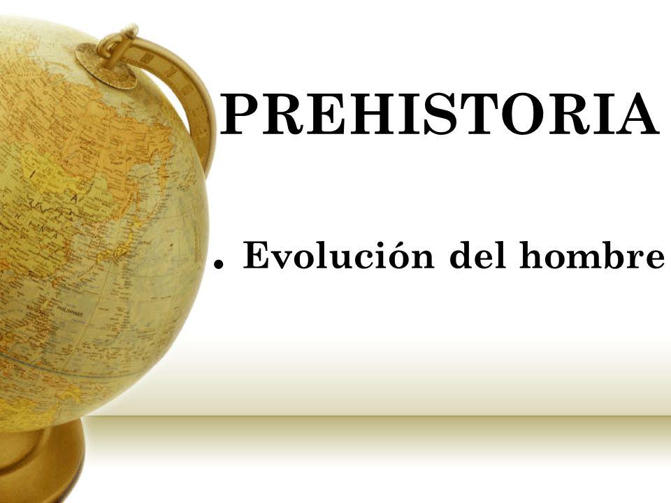 PREHISTORIA . Evolución del hombre