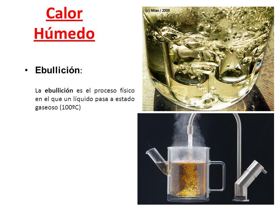 Calor Húmedo Ebullición: