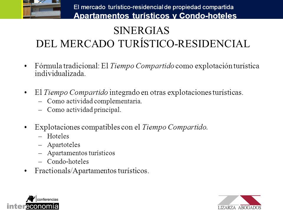 SINERGIAS DEL MERCADO TURÍSTICO-RESIDENCIAL