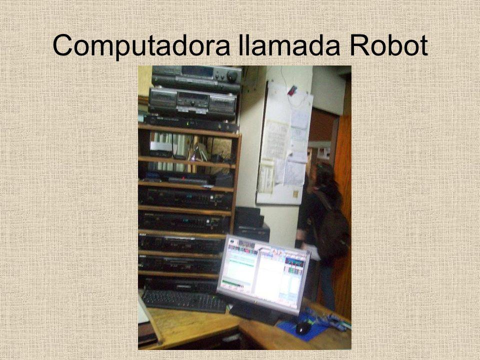 Computadora llamada Robot