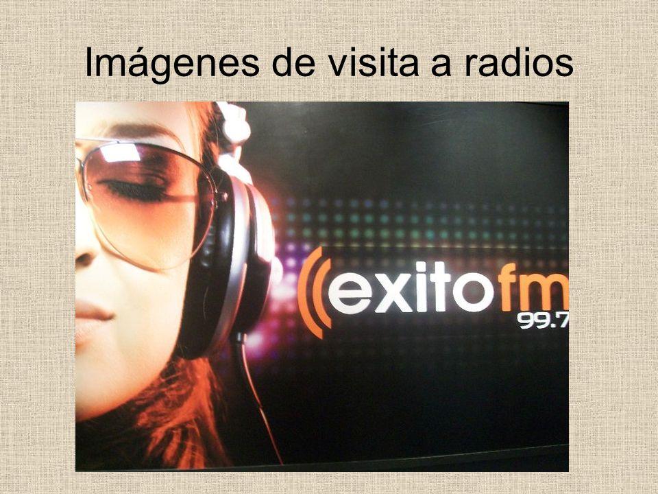 Imágenes de visita a radios