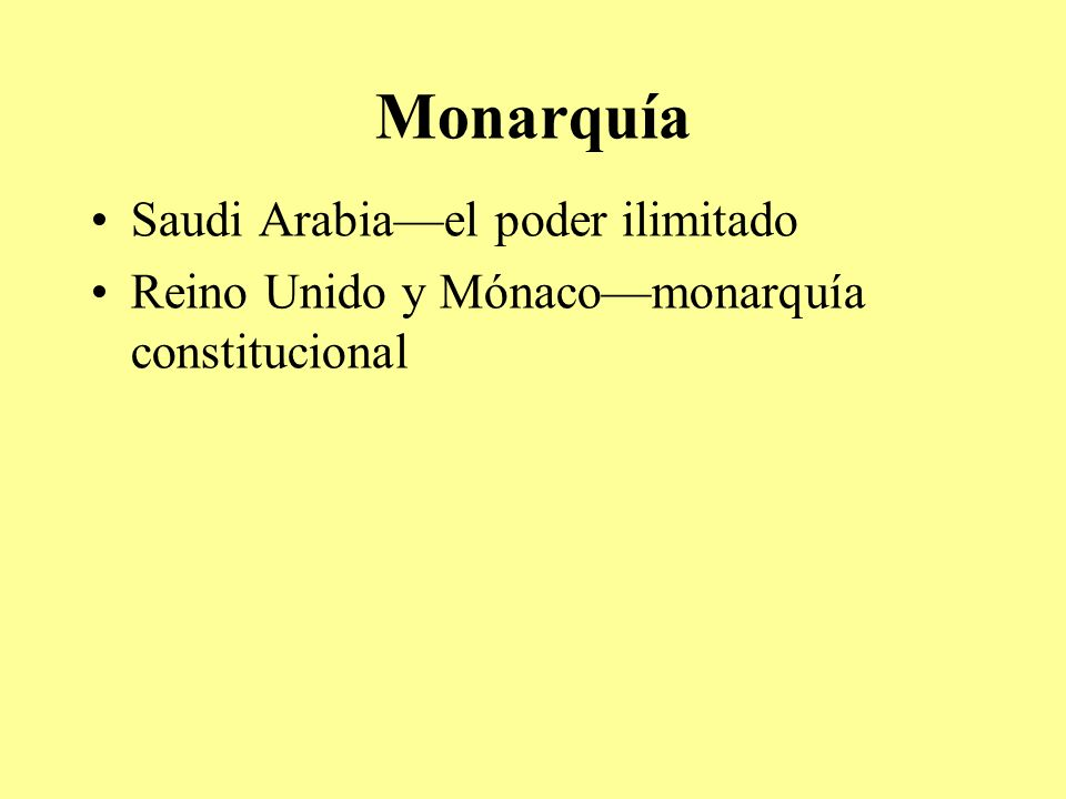Monarquía Saudi Arabia—el poder ilimitado