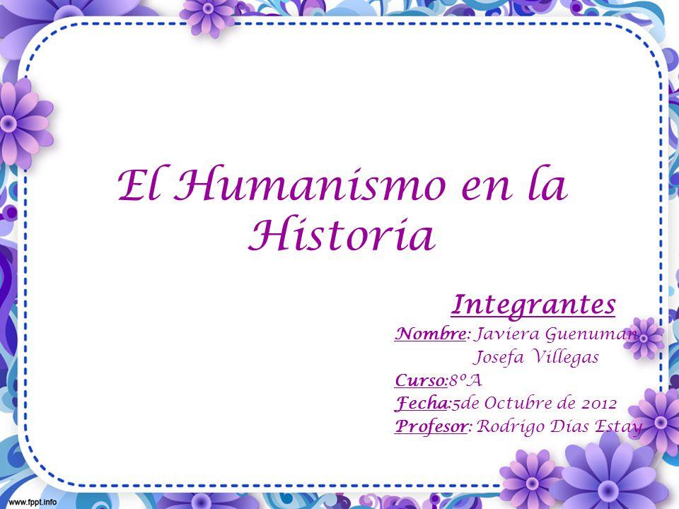 El Humanismo en la Historia