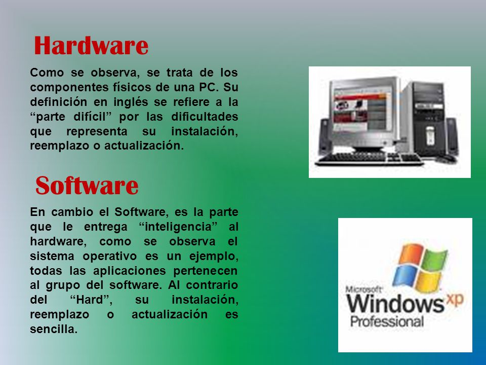 hardware y software daisy rodriguez ppt video online