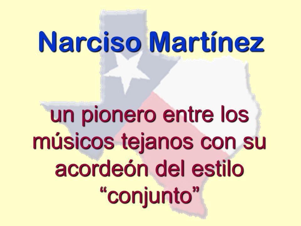 Narciso Martínez un pionero entre los músicos tejanos con su acordeón del estilo conjunto