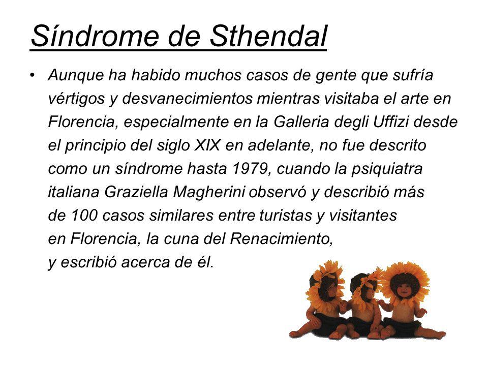 Síndrome de Sthendal