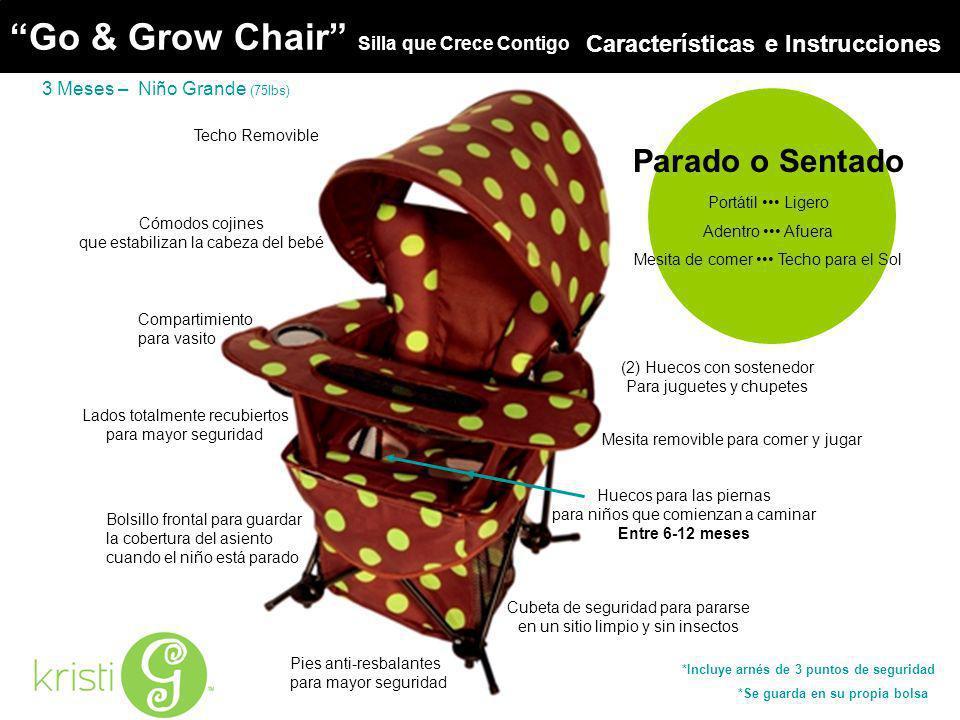 Go & Grow Chair Silla que Crece Contigo