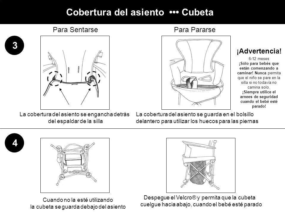 Cobertura del asiento ••• Cubeta