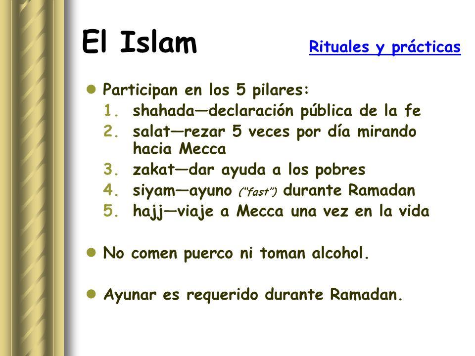 El Islam Rituales y prácticas