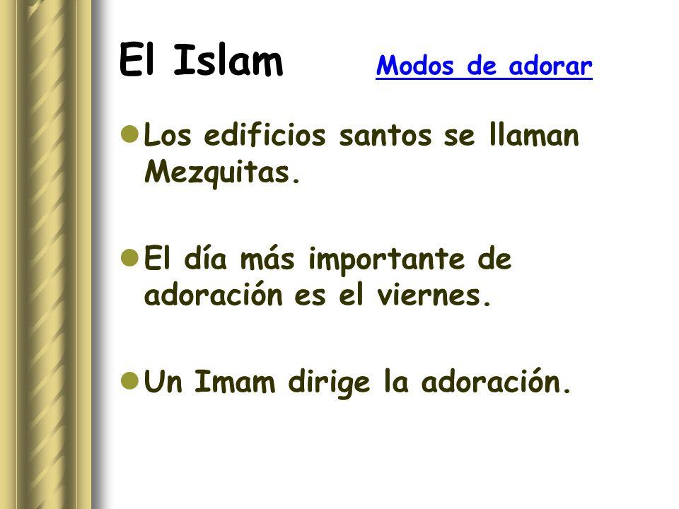 El Islam Modos de adorar