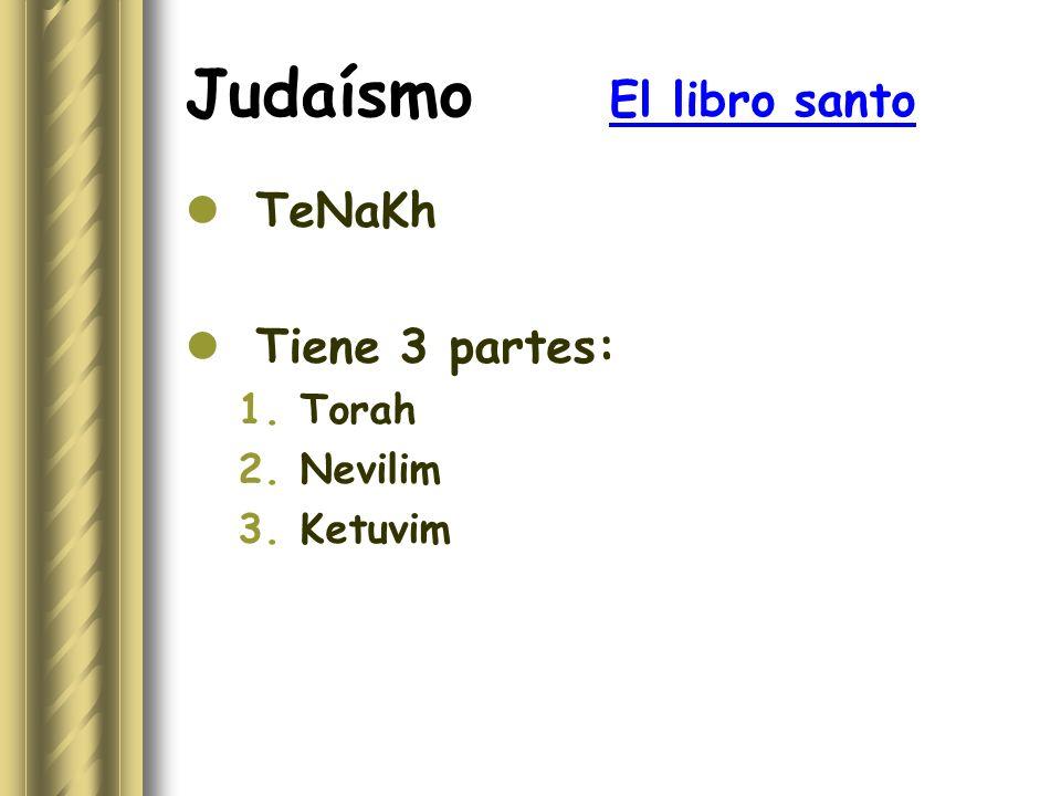 Judaísmo El libro santo