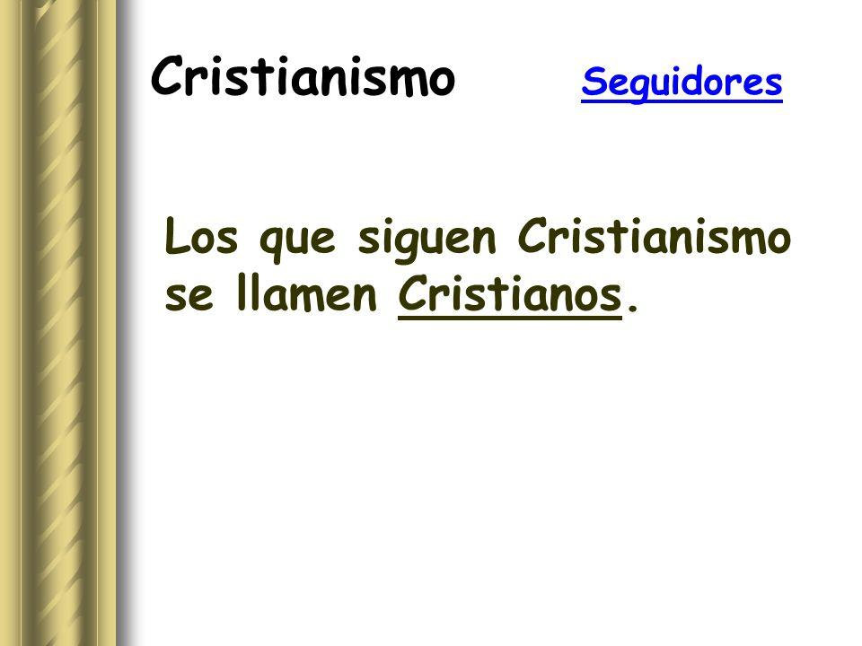 Cristianismo Seguidores