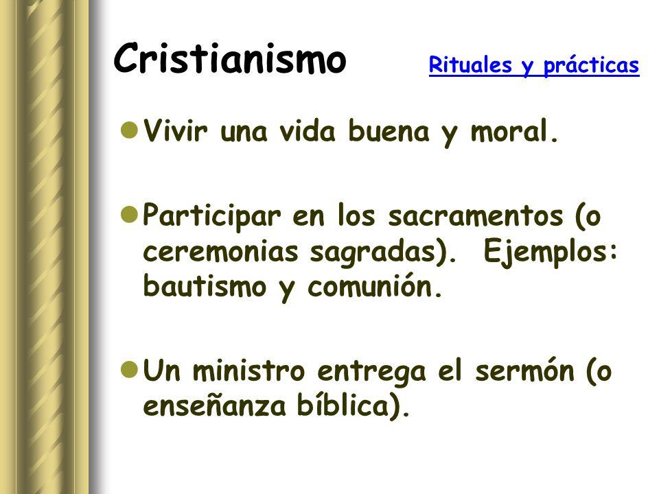 Cristianismo Rituales y prácticas