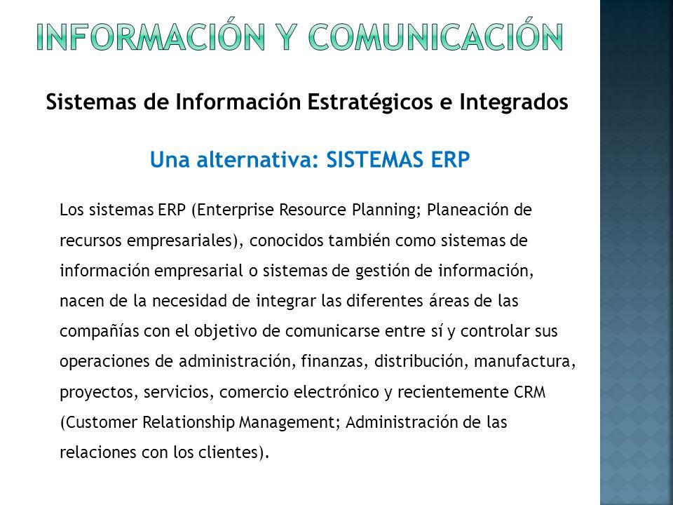 Información y comunicación