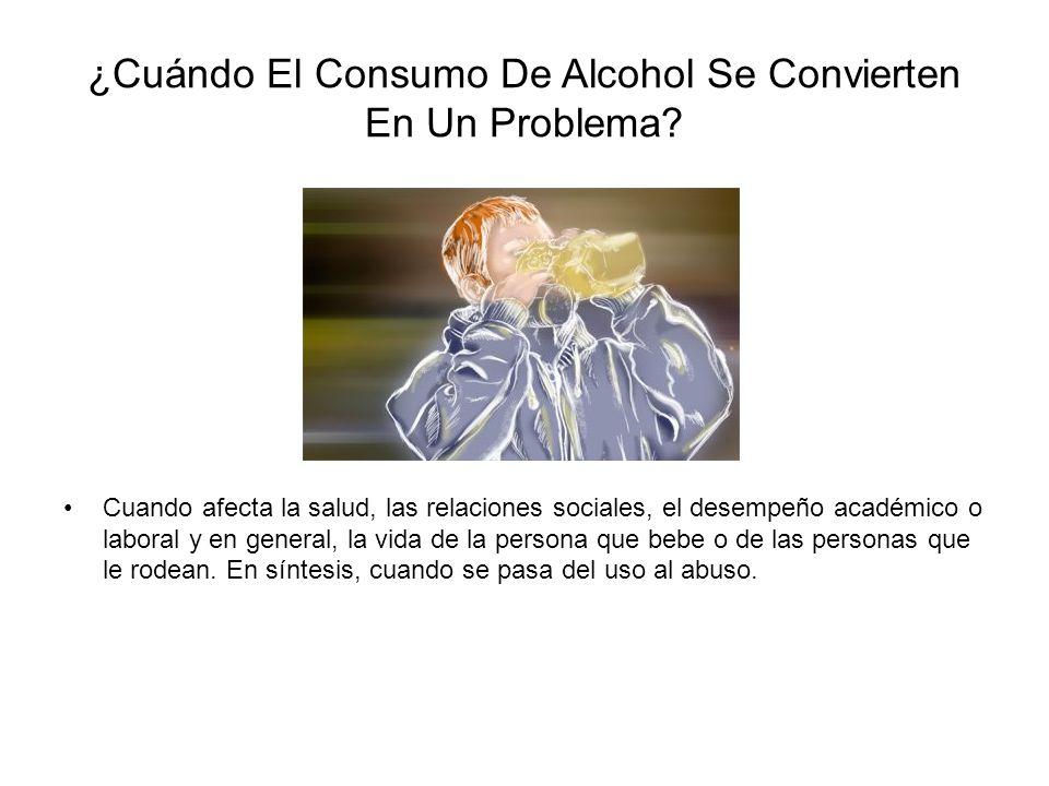 ¿Cuándo El Consumo De Alcohol Se Convierten En Un Problema