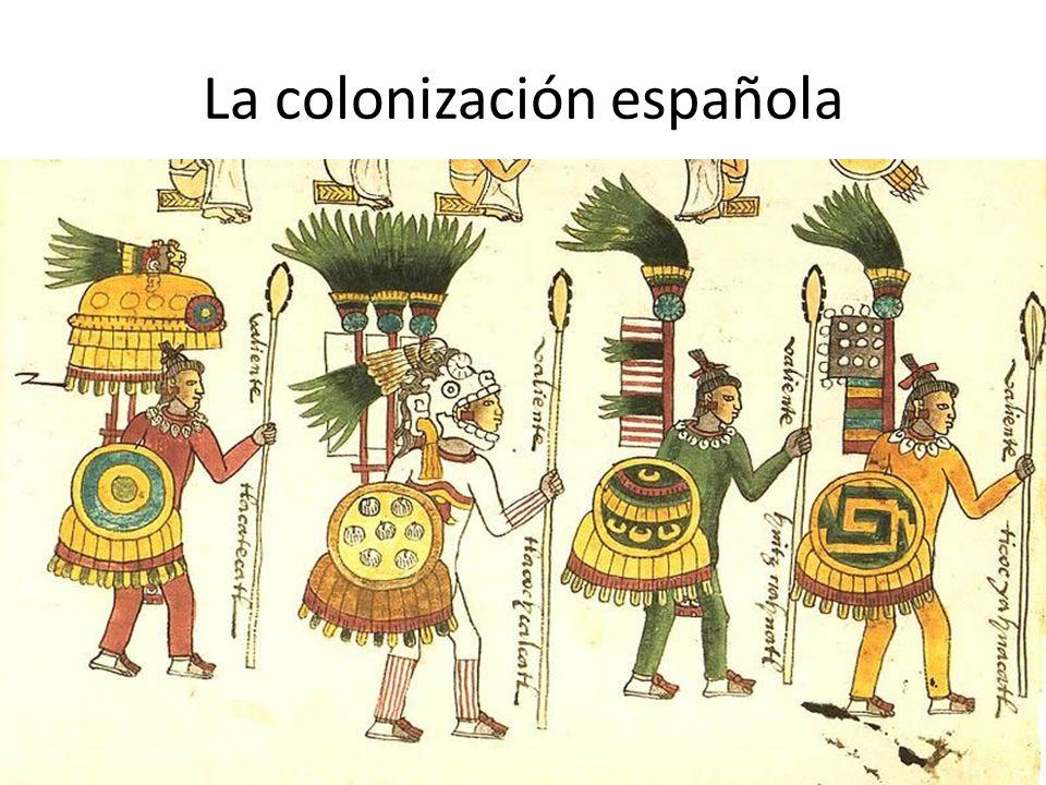 La colonización española