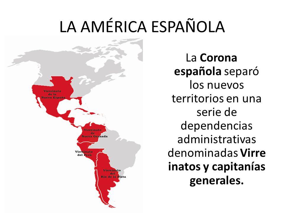 LA AMÉRICA ESPAÑOLA