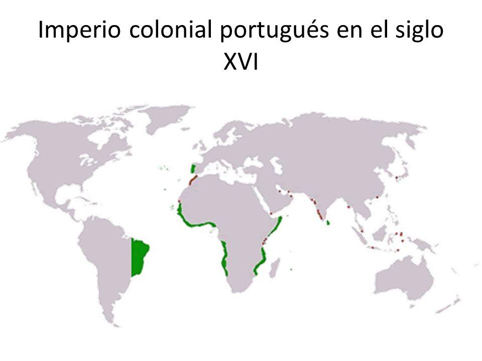 Imperio colonial portugués en el siglo XVI