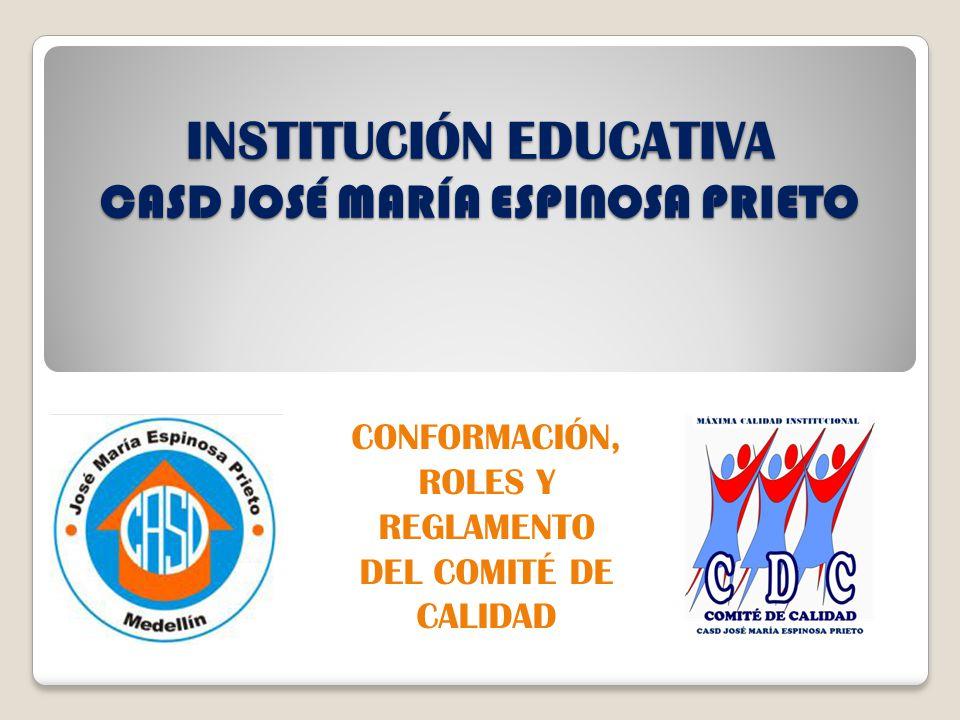 INSTITUCIÓN EDUCATIVA CASD JOSÉ MARÍA ESPINOSA PRIETO