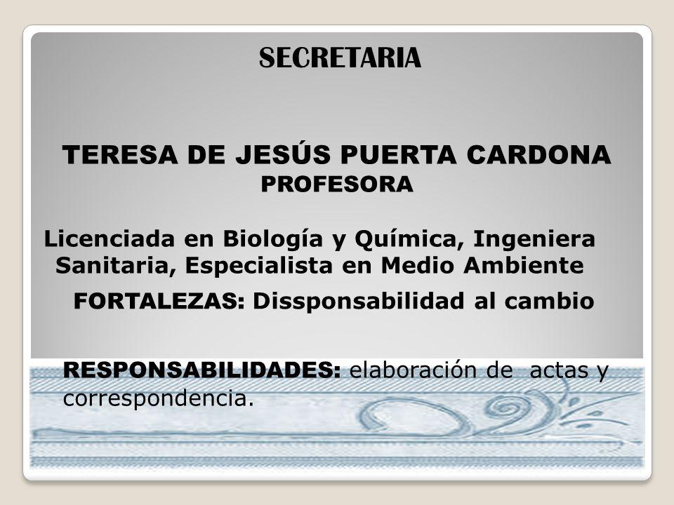 TERESA DE JESÚS PUERTA CARDONA