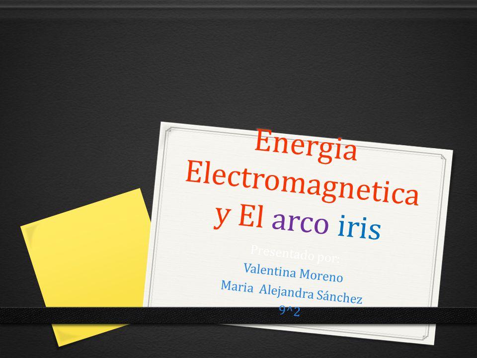 Energia Electromagneticay El arco iris
