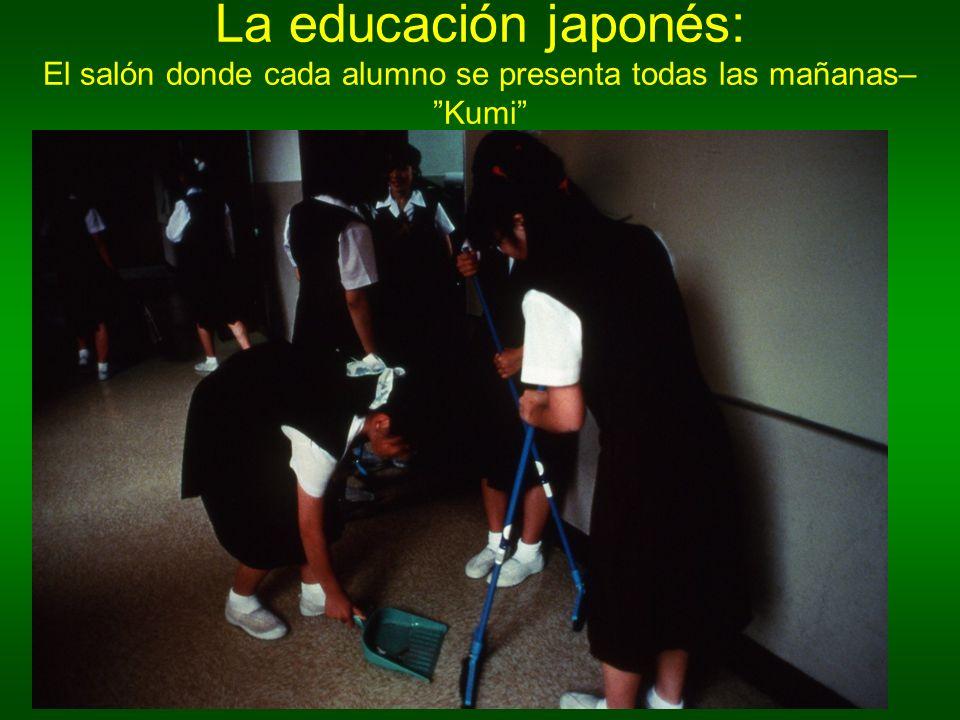 La educación japonés: El salón donde cada alumno se presenta todas las mañanas– Kumi