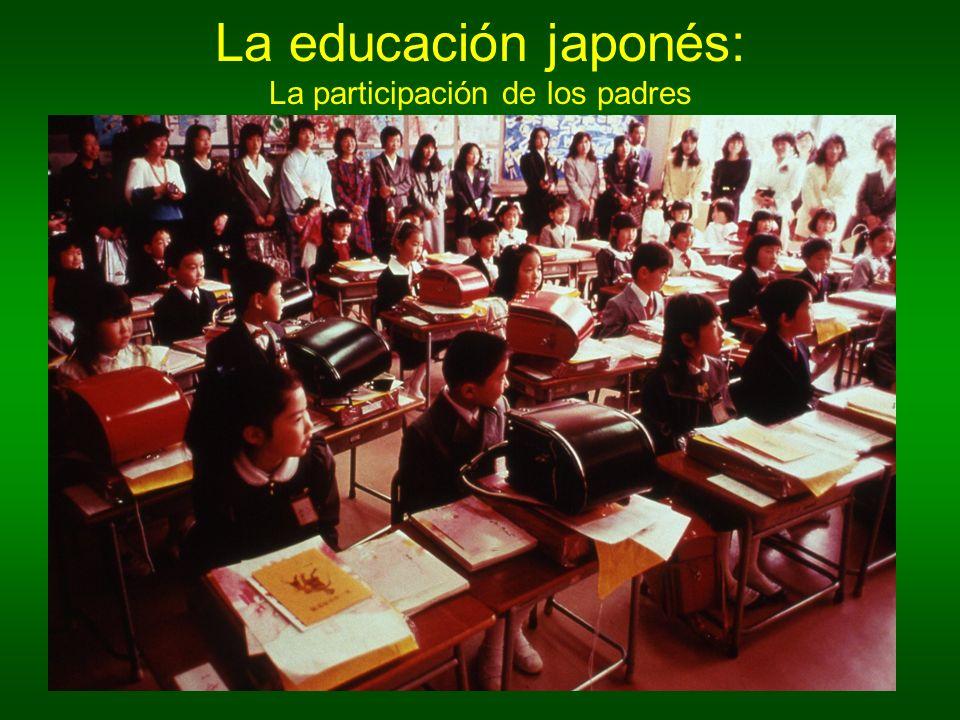 La educación japonés: La participación de los padres