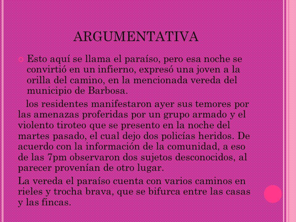argumentativa