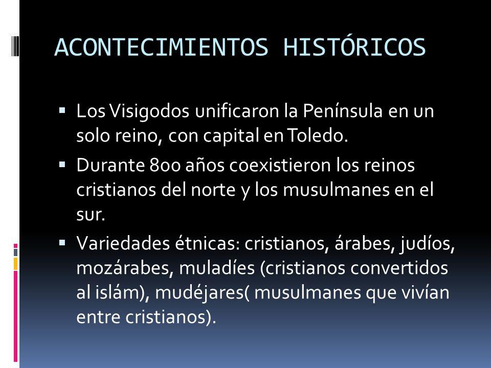 ACONTECIMIENTOS HISTÓRICOS