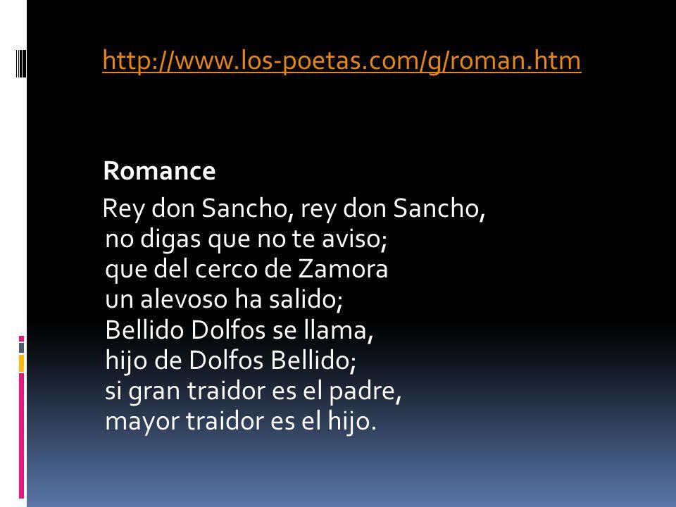 http://www. los-poetas. com/g/roman