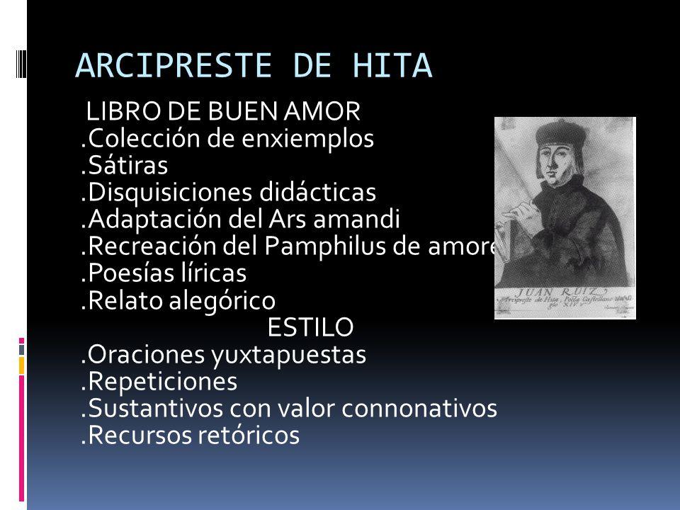 ARCIPRESTE DE HITA