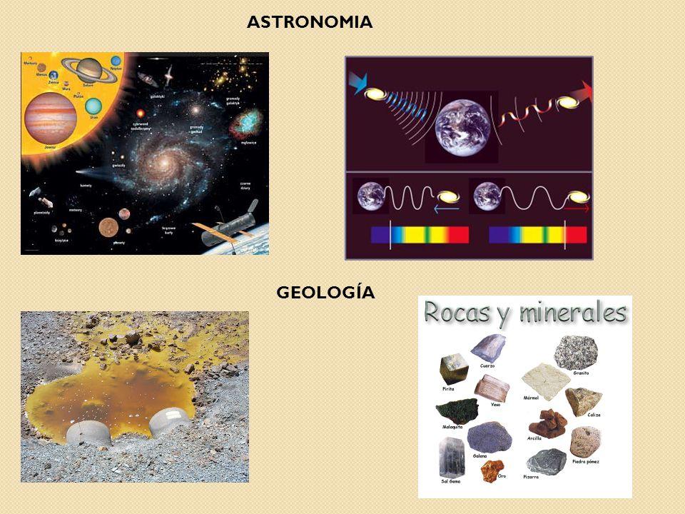 ASTRONOMIA GEOLOGÍA