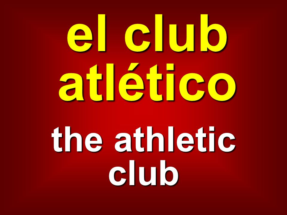 el club atlético the athletic club