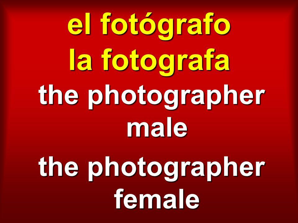 el fotógrafo la fotografa