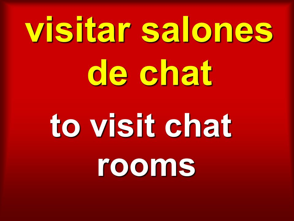visitar salones de chat