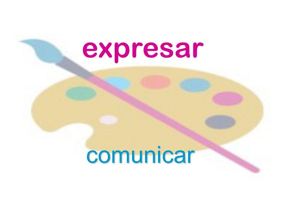 expresar comunicar