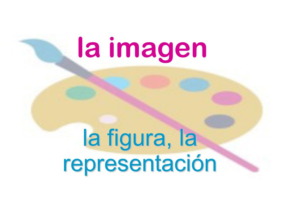la figura, la representación
