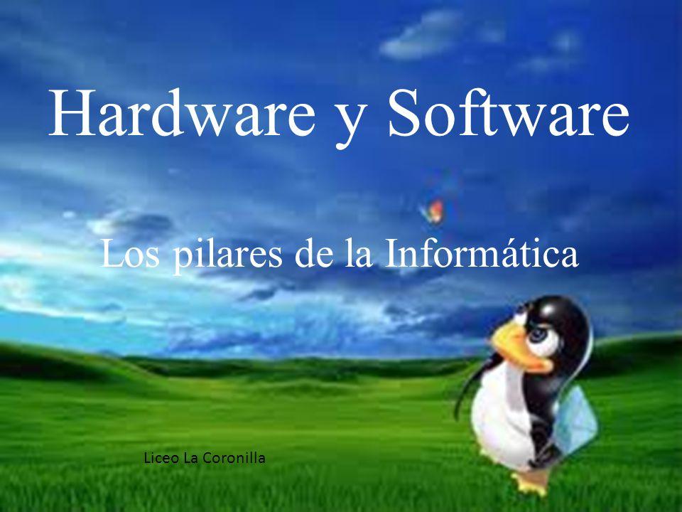Hardware y Software Los pilares de la Informática
