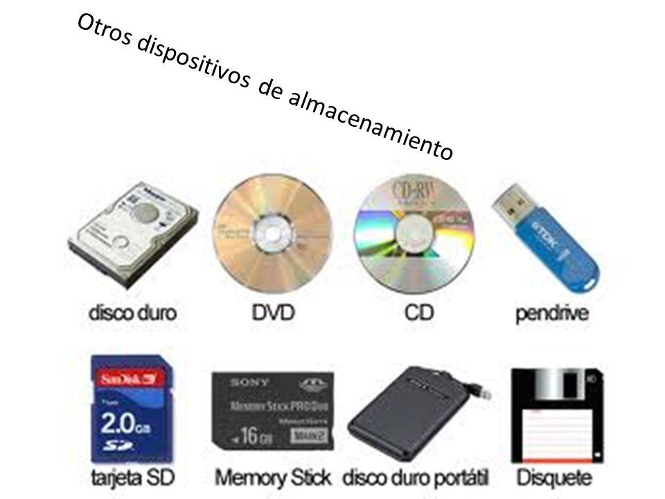 Otros dispositivos de almacenamiento