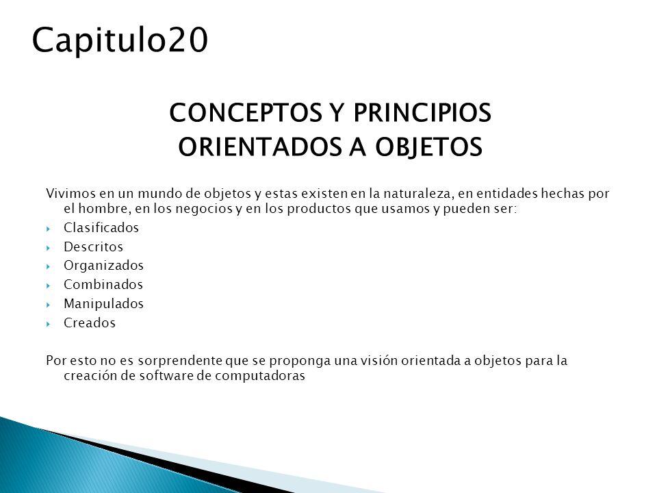 CONCEPTOS Y PRINCIPIOS