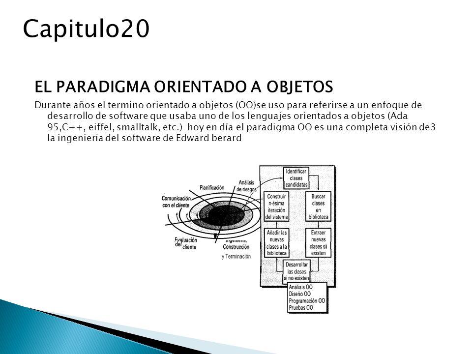 Capitulo20 EL PARADIGMA ORIENTADO A OBJETOS