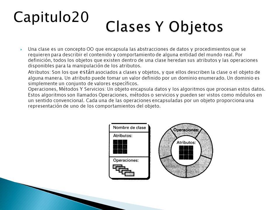 Capitulo20 Clases Y Objetos