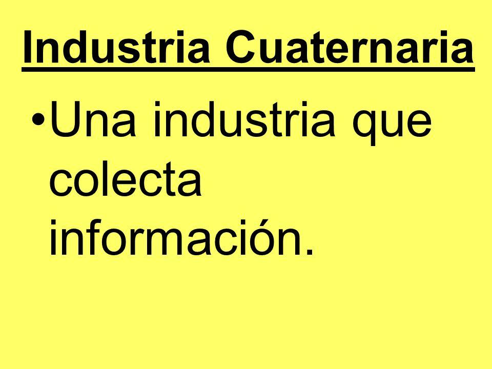 Industria Cuaternaria
